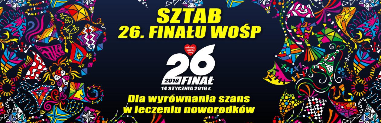 26 Finał WOŚP Kwidzyn SZTAB