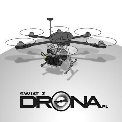Świat z Drona
